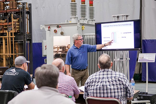 Transformer Electrical Testing Training Power Factor