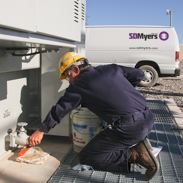 Transformer Inspection & Oil Sampling | SDMyers
