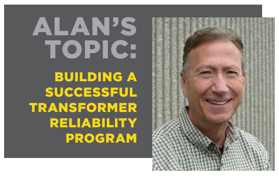Alan Ross, VP of Reliability, will present at this year's conference on April 24. The talk will focus on how to define the reliability culture you want to create.