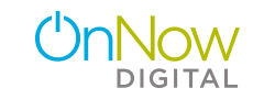 On Now Digital logo